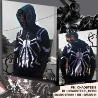 Jaket Hoodie Agent Venom Spider man