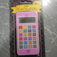 KALKULATOR MODEL IPHONE WARNA PINK