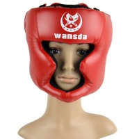Helm Tinju/Boxing Headgear Head Guard Training Helmet Protection