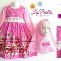 La Bella Gamis Anak Size Besar 6-11 Tahun