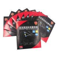 CA024 Electrostatic Sticker Tempelan Mobil Mudah Dilepas Tanpa Bekas