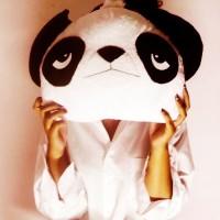 Bantal Panda Tidur Boneka Bandung