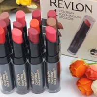 Revlon Colorstay Soft&Smooth Lipcolors - Lipstick Tutup Mika Dus isi 4