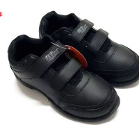 Bata Back to School [BTS] 6735 Sepatu Sekolah Anak - Hitam (uk sedang)