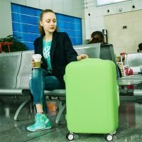 Jual pelindung koper, elastic luggage cover,sarung bagasi warna warni (L) Murah