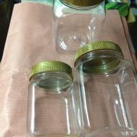 Toples/ jar plastik mini/ kue kering/ sambel/bawang goreng/ ikan/ abon