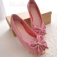 Flat Shoes Kupu-Kupu PINK