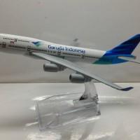 Garuda Indonesia Pesawat Terbang Full Diecast ( PT015 )
