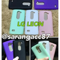 SOFT CASE ULTRA THIN GLOSSY CANDY LG LEON