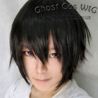 Wig L Death Note Import Taobao GhostCos Wig Cowok Cosplay HQ