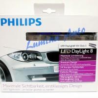 Philips DayLight 8 - Lampu DRL / Day Running Light LED 8 Titik 6000K