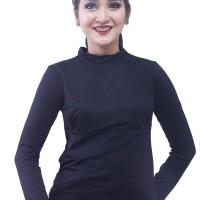 Baju Menyusui Manset Aisha Hitam ukuran LXL