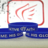Rubberband / Gelang My Game His Glory ( active faith )
