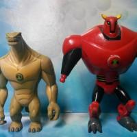 Mainan Action Figure Ben 10 / Ben Ten Cartoon Network Bandai (3)