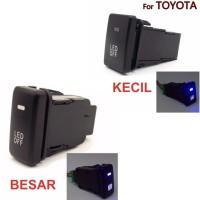 DRL Fog lampu Switch Panel Toyota camry yaris rush innova Tombol LE