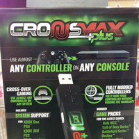 Cronusmax Plus Cross Cover Gaming Adapter For Ps4 Ps3 Xbox One X360