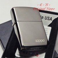 Zippo Classic Black Ice Logo 150ZL Original Lighter Korek Api USA