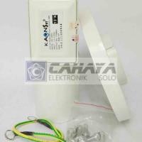 LNB C band Kaonsat 13K 1 Satelit 1 Receiver Anti Petir Parabola Lock