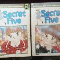 Komik Secret Five 1-2 (tamat di nomor 3)