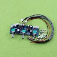 NE5532 2.1 CHl pre-board low pass filter subwoofer preamp board AJ30