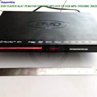 Dvd Player Alat Pemutar Dvd Mp4 Mp3 Vcd Cd Usb Mpg Trisonic 35x20x5 Cm