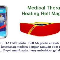 Global Belt Magnetic Health / Medical Therapy Heating Tas