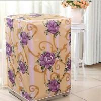 Cover Mesin Cuci Motif Bunga Model Front Load Dan Top Load