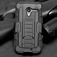 Motorola MOTO X Gen 1 Shockproof Future Armor Hybrid Hard & Soft Case