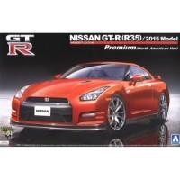 DM056 1-24 NISSAN GT-R(R35) 2015 PREMIUM RED [AOSHIMA]