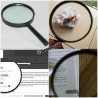 Lup Kaca Pembesar ~ Diameter 90 mm / 9 cm - Magnifying Glass Magnifier