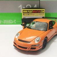 PORSCHE 911 (997) GT3 - SKALA 1:24 - WELLY (DIECAST-MINIATUR)