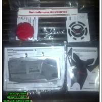 Paket Aksesoris Resmi Ahm New Honda CBR150R 2016 K45G Silver / Red