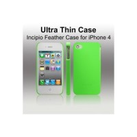 INCIPIO Feather Case for iPhone 4 with Logo - Light Green - IOIP01LG