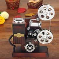 Jual kotak musik proyektor film atau movie yang unik Murah