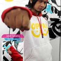 Jaket Sweater Saitama Oppai One Punch Man
