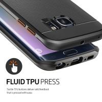 Casing Samsung Galaxy S6 Edge/Plus Spigen Neo Hybrid Soft Back Case