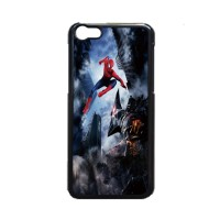 Custom Casing iPhone 5/5S/5C Spiderman vs Rhino