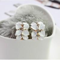 anting bunga enamel / floral enamel buckle earrings JAN024