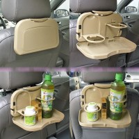 Harga travel dining tray car seat tray tempat makanan dan minuman di | antitipu.com