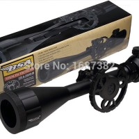 Teleskop Senapan Angin BSA STEALTH TACTICAL 4-16X44