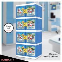 harga Lemari Plastik Naiba - Kabinet Doraemon 8674 XB Premium (S4 kunci) Tokopedia.com