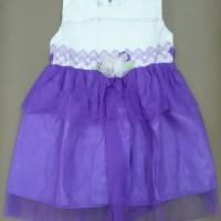 Baju bayi umur 1 - 2 tahun gaun dress layer anggun untuk pesta