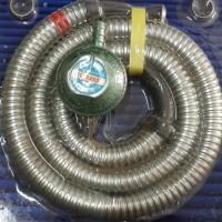 harga Selang Gas Spiral + Regulator Terrano Tokopedia.com