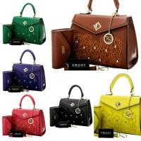 EMORY Crocus 2in1 Fashion Bag Tas Blue Yellow Brown Green Black Red