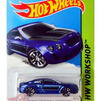 HW Hot Wheels Hotwheels - Bentley Continental Supersports BIRU BLUE