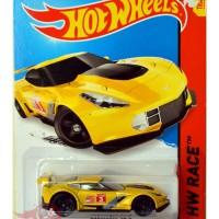 harga HW Hot Wheels Hotwheels - Corvette C7.R KUNING / YELLOW Track Stars Tokopedia.com