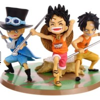 [Figure One Piece] One Piece Brotherhood Ace Sabo Luffy (Promise Of Br