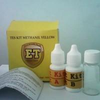 Tes Keamanan Pangan Uji Metanil Yellow