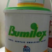 CAT TEMBOK BUMILEX WARNA 5 KG / PUTIH PINK BIRU HIJAU CREAM TOSCA DLL
