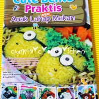 Buku cara membuat Cute Bento Praktis